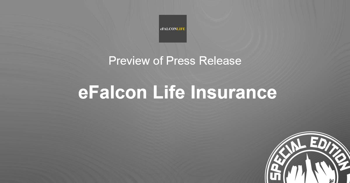eFalcon Life Press Release